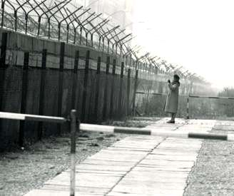 The Wall w/ barbed wire